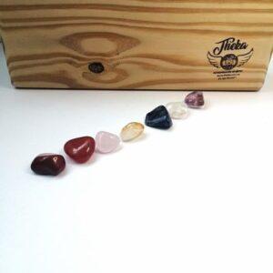 set cristales 7 chakras